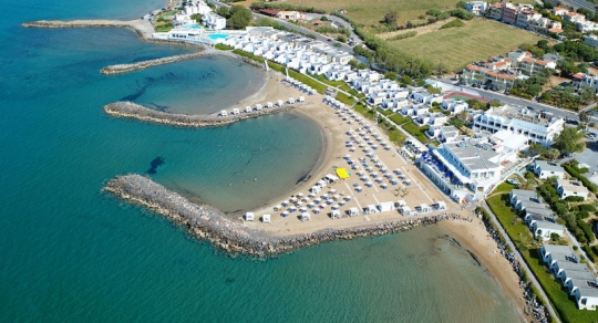 Почивка в KNOSSOS BEACH BUNGALOWS & SUITES 4*