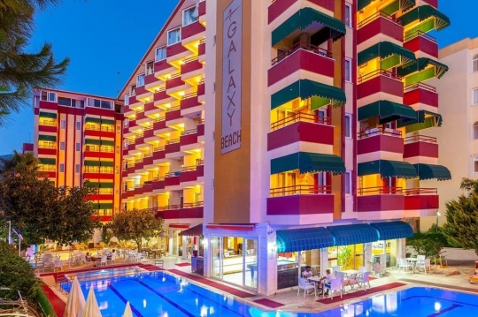 Почивка в GALAXY BEACH HOTEL ALANYA 3+*